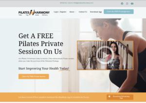 Business Website- Pilates N Harmony