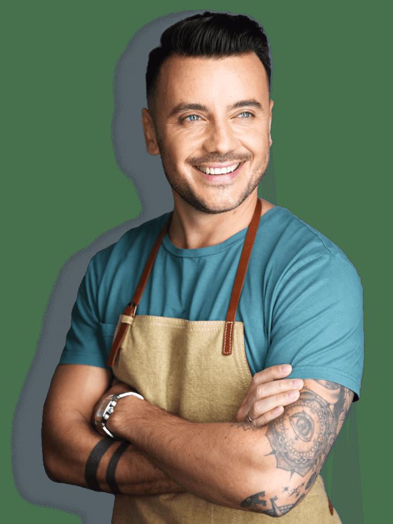 Website Design Client - Chef Eddy